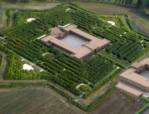 In provincia di Parma il  più grande labirinto del mondo. Il labirinto di Franco Maria Ricci a Fontanellato