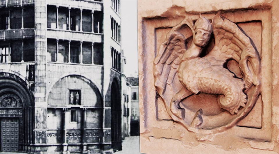 La storia dell'arte a Parma si fa in 3D, lo Zooforo del Battistero di Parma