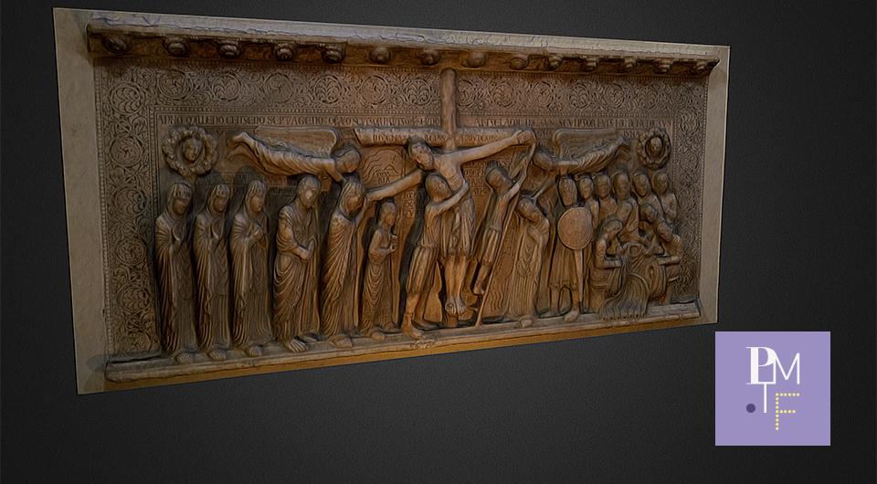 La Deposizione di Benedetto Antelami in 3D, ricostruzione di un passaggio nodale dalla cultura romanica a quella gotica
