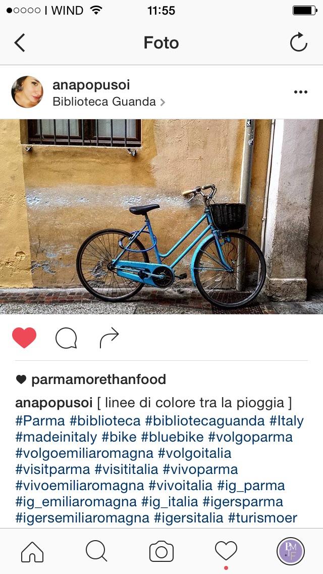 racconta Parma con Parmamorethanfood