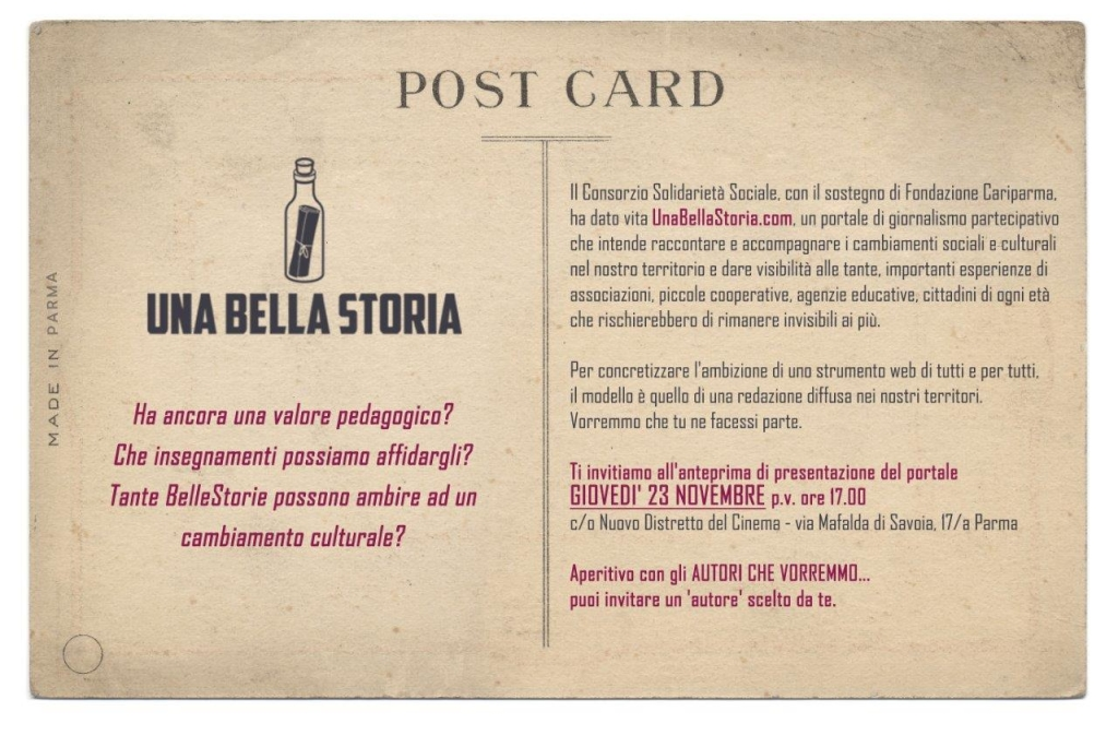 una bella storia a Parma