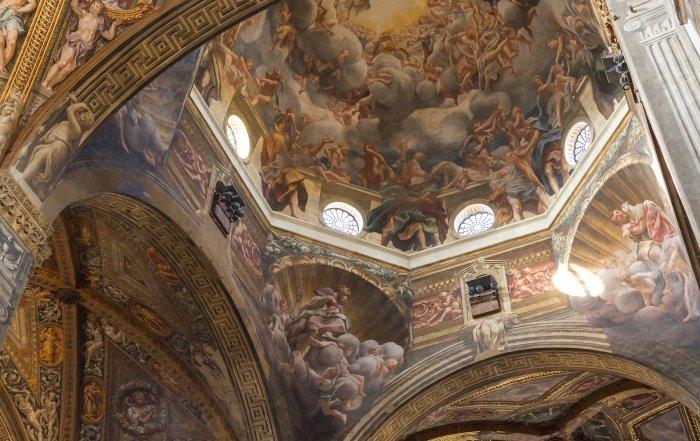 Cupola della chiesa di San Giovanni Evangelista a Parma.